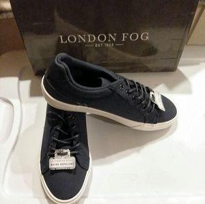 NWT London Fog Men's Bayswater Sneakers Blue 8